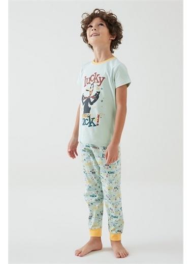Penti Pijama Takım Yeşil